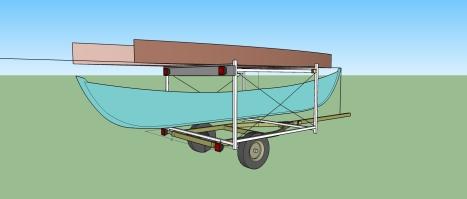 trailer rack